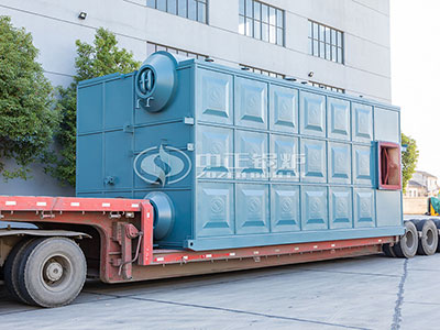 15tons SZS series Biogas Steam Boiler for Food Industry