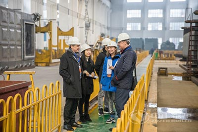 Customers from Uzbekistan Visit ZOZEN Boiler