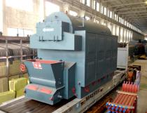 1.4MW Chain Grate Coal Fired Packaged Hot Water Boiler
