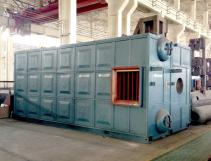 SZS Series of  Industrial Natural Gas Fired Water Tube Steam Boiler