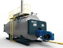 WNS Gas Fired Condensing Steam Boiler