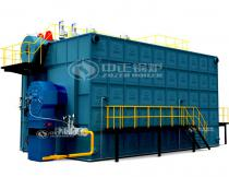 SZS Double Drums Packaged Steam Boiler