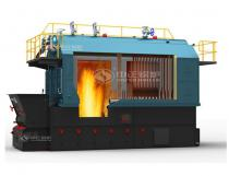 2.8MW Coal Fired Hot Water Boiler