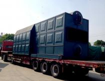 21MW Coal Fired Hot Water Boiler