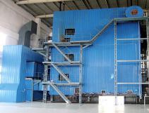 35MW CFB Coal Fired Hot Water Boiler
