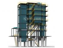 46MW CFB Coal Fired Hot Water Boiler