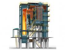 15T Assembled CFB Coal Steam Boiler