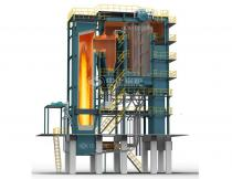 20T Assembled CFB Coal Steam Boiler