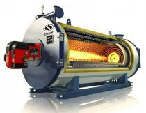 3.5MW Gas Fired Thermal Oil Heater