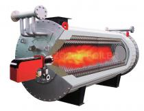 4200KW Natural Gas Fired Hot Oil Boiler