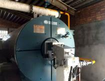 7000KW Natural Gas Fired Hot Oil Boiler