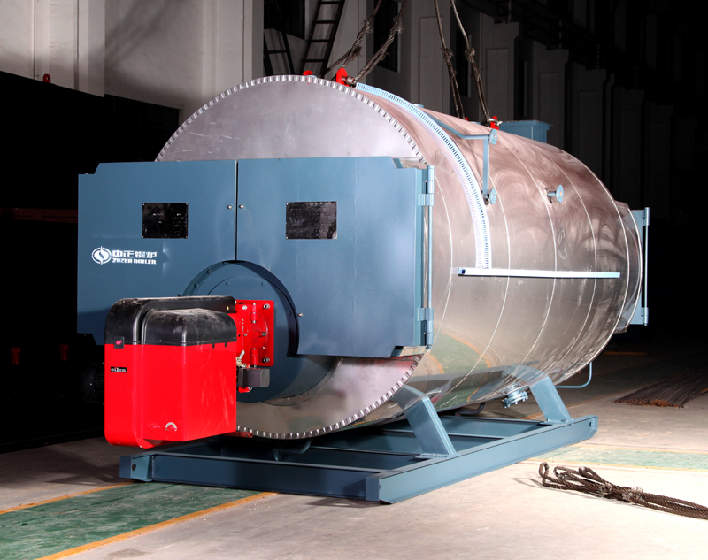 ZOZEN gas fired steam boiler is of high quality and low emission.The ...