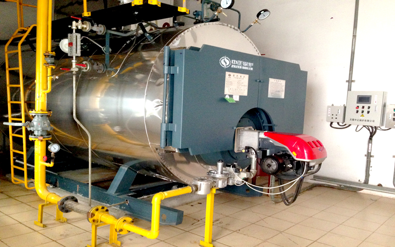 WNS Gas(oil) fired steam boiler