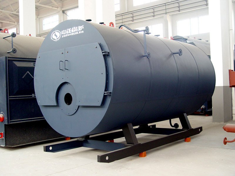 Natural gas fired Packaged Horizontal Steam Boiler