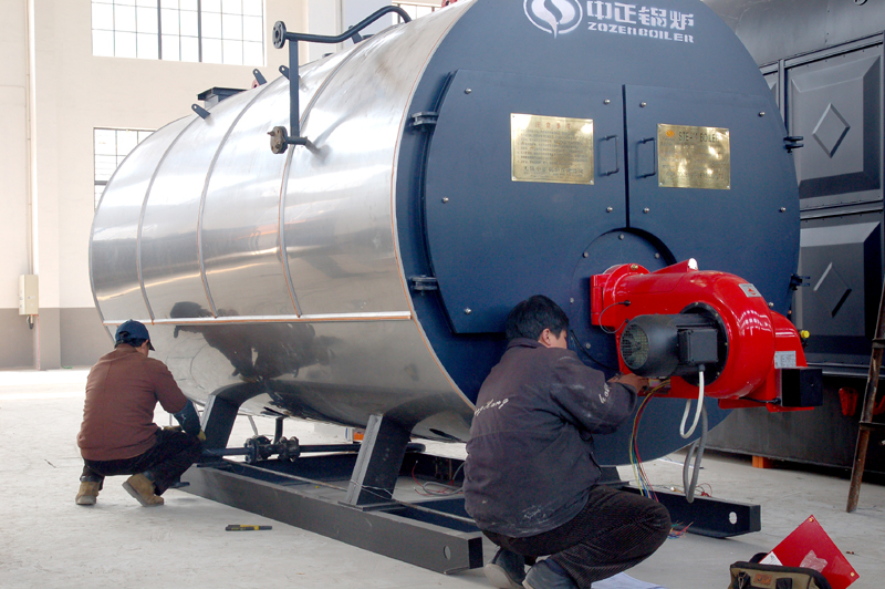 Diesel Fired Horizontal Steam Boiler for Heat Supplying