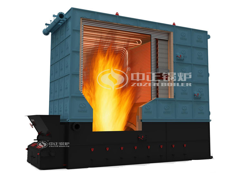 ZOZEN YLW series of thermal oil boilers are square coil tube ...