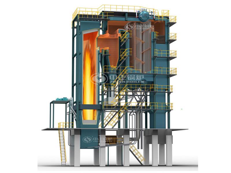7MW Circulating Fluid Bed Hot Water Boiler